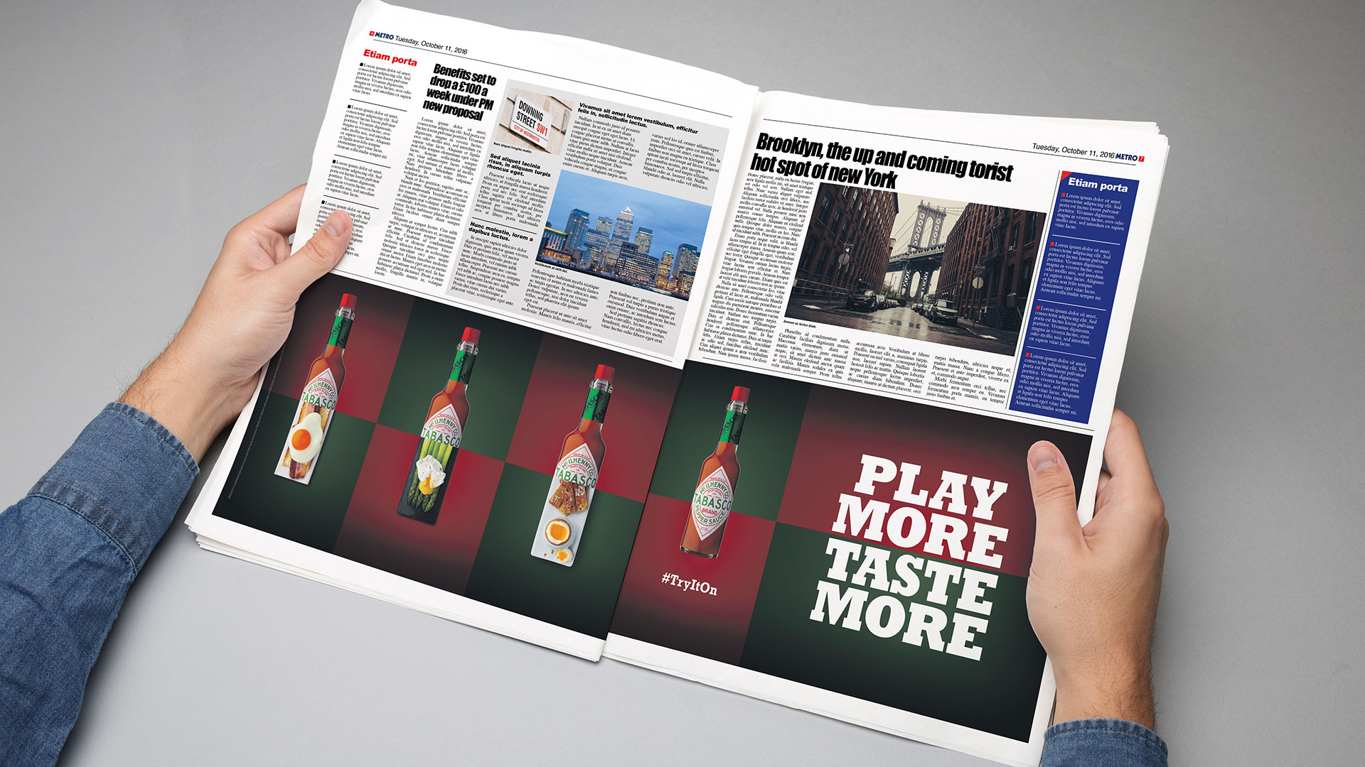 Tabasco - Press Advert