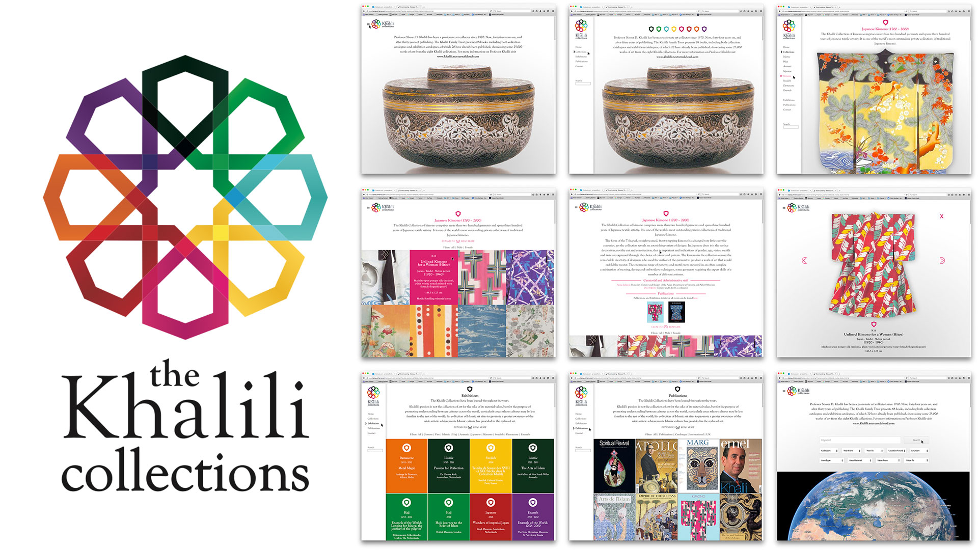 The Khalili Collection - Branding